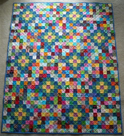 Quilt Scraps by Crafter Without A Cat Scrap Quilt 2 A Gift To