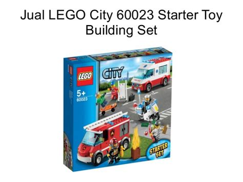Jual Lego City Pesawat by Jual Lego City 60023 Starter Building Set