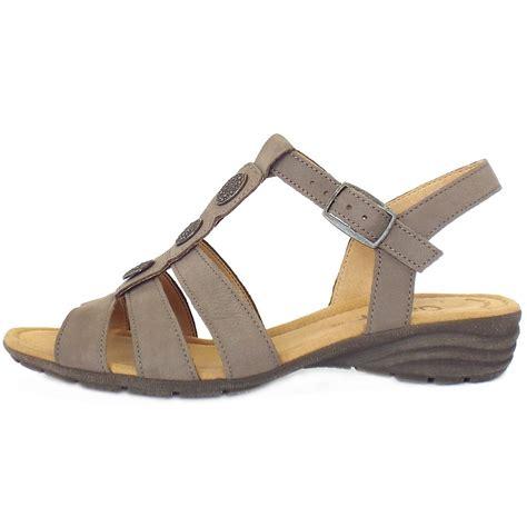 t bar sandals gabor eartha s sporty lightweight t bar sandals in
