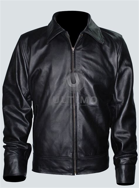 Jaket American Richie American Gangster Leather Jacket