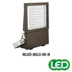 Lu Led Zr hubbell outdoor lighting mled 80lu 5k w bz 179w magnuliter