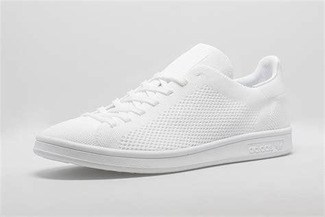 adidas originals stan smith primeknit triple white black