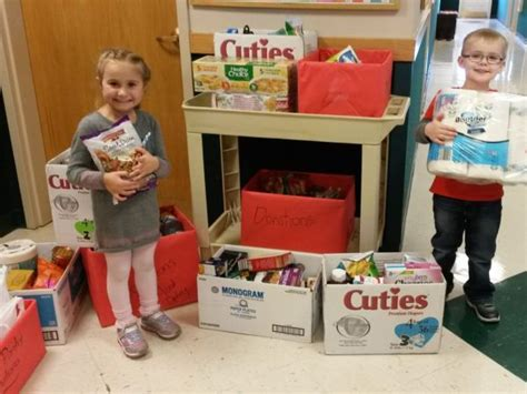Grafton Food Pantry by Students At Chesterbrook Academy 174 Preschool In Lakewood