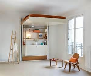 Exceptional Lit Escamotable Plafond Prix #2: Lit-escamotable-electrique-eclectique-position-haute.jpg