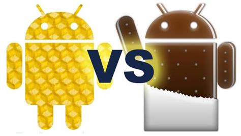 android 4 0 icecream sandwich android honeycomb 3 2 vs android sandwich 4 0 comparison 2 your mobile