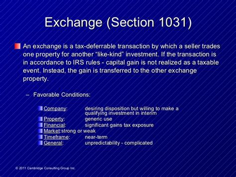 section 1031 exchange rules surplus property strategies course2 p96