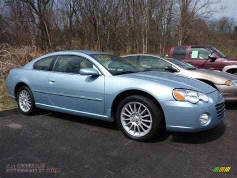 2004 chrysler seabring 2004 chrysler sebring limited coupe in light blue pearl