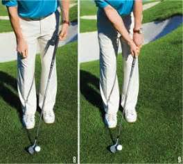 Golfer Heels 268 solid chip every time golf tips magazine