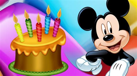 mickey mouse happy birthday images related keywords suggestions for mickey birthday