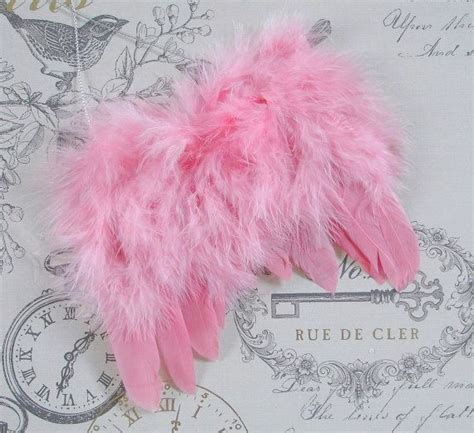fluffy feather christmas tree decoration angel wings shabby chic pink feather ostrich wing ornament decoration tree