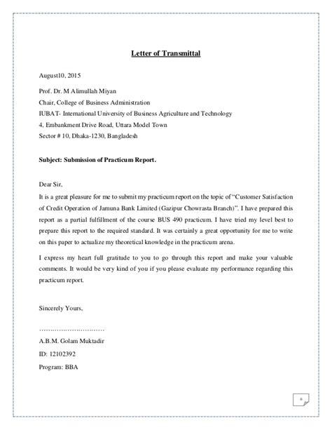 Customer satisfaction of credit operation of jamuna bank ltd.
