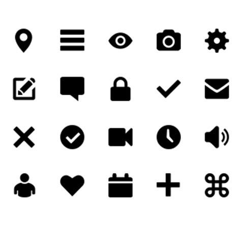 design ui icon flat ui design
