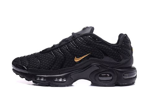 nike tn running shoes free shipping nike air max plus txt black gold sneakers