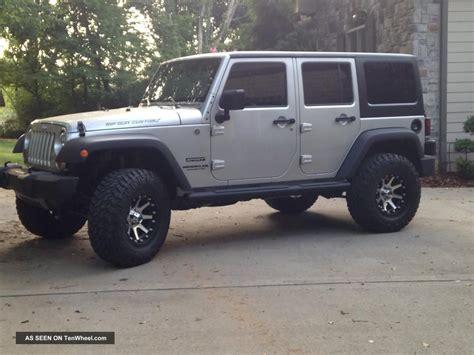 2012 Jeep Wrangler Unlimited 4 Door 2012 Jeep Wrangler Unlimited Sport Utility 4 Door 3 6l