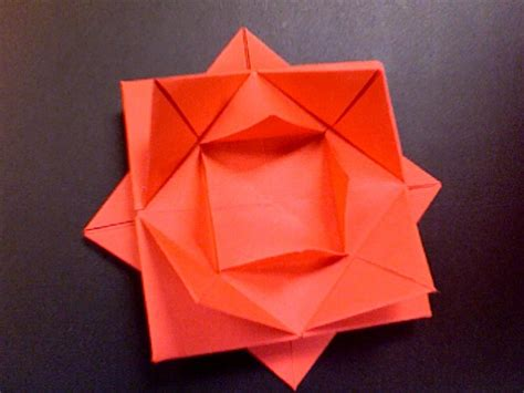7 Paper Fold - how to fold a paper flower all