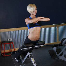 back exercises with bench hyperextensions with no hyperextension bench exercise