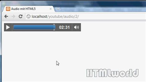 html5 tutorial youtube html5 tutorial audio einbinden ohne flash deutsch