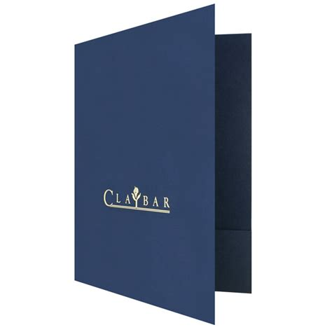 custom printed letter size two 3 quot pocket presentation folder