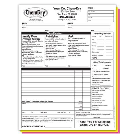 ncr form template carbonless ncr invoice work order form printer franchise