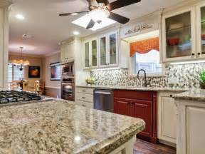 Pictures Of Kitchen Countertops And Backsplashes by Backsplash Ideas For Granite Countertops Hgtv Pictures