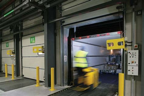 loading bay curtains built in loading bay safety from h 246 rmann warehouse