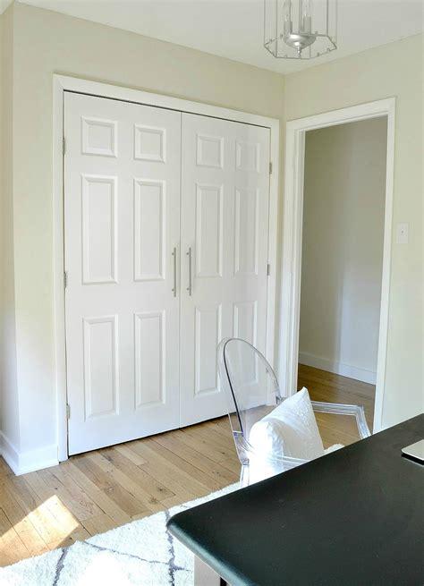 diy closet door update how to update your old bi fold thrift used bifold closet door roselawnlutheran