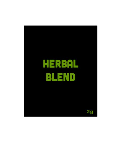 Herbal Blend other accessories herbal blend mint vanilla