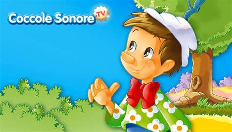 pinocchio testo canzone la canzone di pinocchio canzoni per bambini coccole sonore