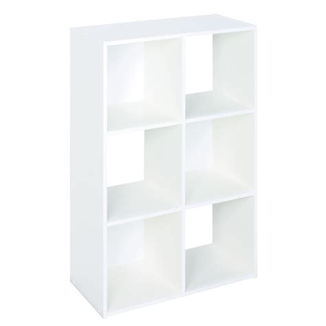 Closetmaid Laminate Storage Shop Closetmaid 6 White Laminate Storage Cubes At Lowes