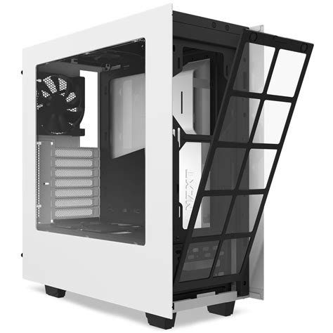 Nzxt S340 White buy nzxt s340 white mid tower gaming at evetech co za
