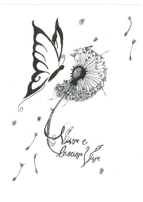 beautiful butterfly tattoo designs 21 awesome dandelion designs