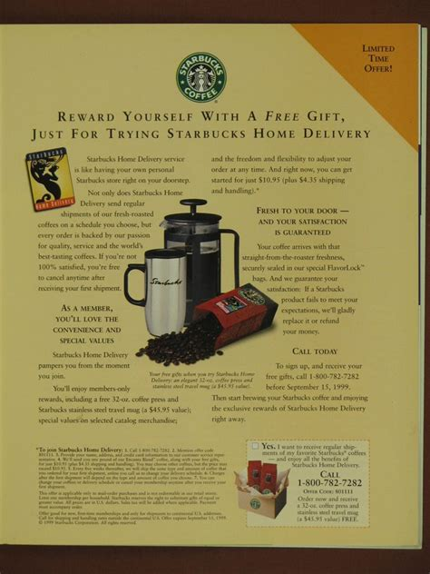 Starbucks Magazine Advertisement   www.pixshark.com