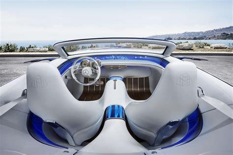 maybach interni vision maybach 6 cabriolet l anello di congiunzione tra