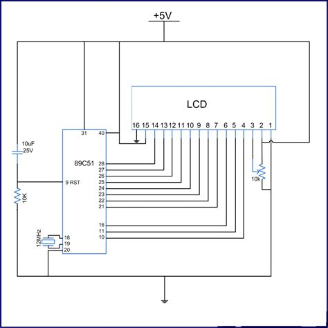 panasonic gaa capacitor 4 bit lcd interfacing engineer 28 images подключение lcd дисплея к микроконтроллеру avr how