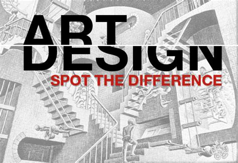design and art difference art and design spot the difference