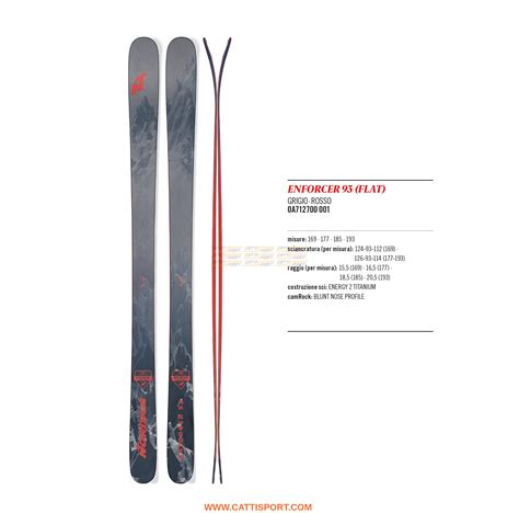 miglior tavola all mountain sci snowboard nordica sci enforcer 93 flat 0a7127 ski