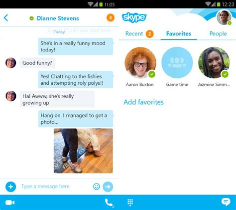 skype for android phone skype 5 6 apk for android gadgets academy