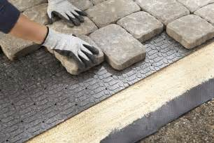 Lowes Pavers For Patio Patio Paver Base Lowe S