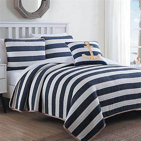 Elegancy Syari Set Navy 1 estate hton quilt set in navy white bed bath beyond
