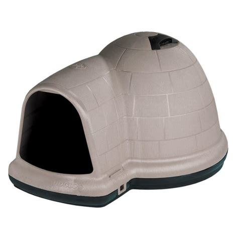 petmate indigo dog house petmate large indigo dog house 08609984 the home depot