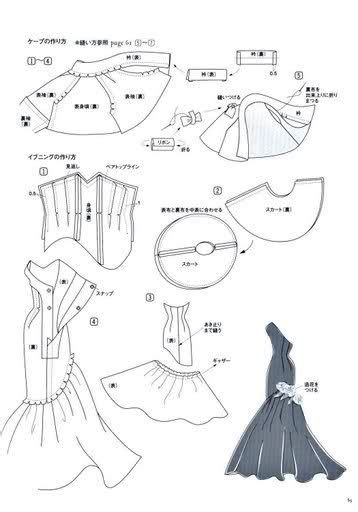 clothes pattern in spanish retro tutorials for doll dresses use google translator