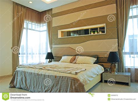 double master bedroom interior design of master bedroom stock image image