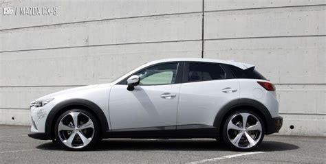 Auto Tieferlegen Vor Nachteile by Mazda Cx 3 Mit 19 Zoll Lv5 Felgen Und Aac Inc
