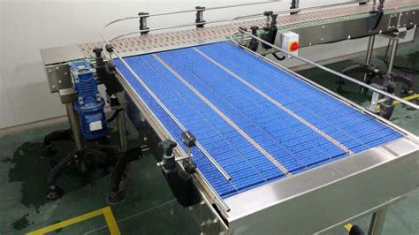 table top chain conveyor lbp821 plastic chain roller table top chain conveyor for