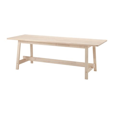 Ikea White Table by Norr 197 Ker Table White Birch 220x80 Cm Ikea