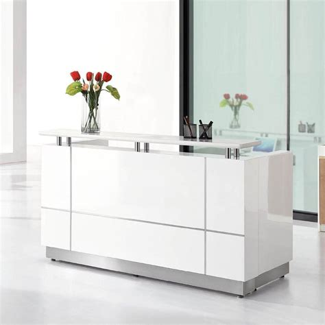high quality cheap front desk office table modern office furniture reception desk reception