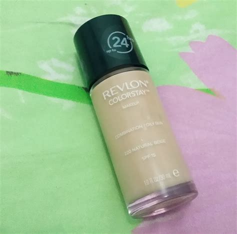 Revlon Foundation 24 Jam review foundation revlon colorstay in beige