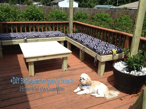building a backyard deck create a simple diy backyard seating area in a weekend