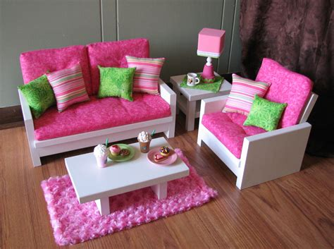 18 doll furniture american sized living by