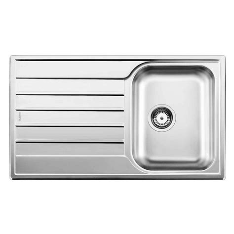 Blanco Stainless Steel Kitchen Sinks Blanco Livit 45 S Stainless Steel Kitchen Sink